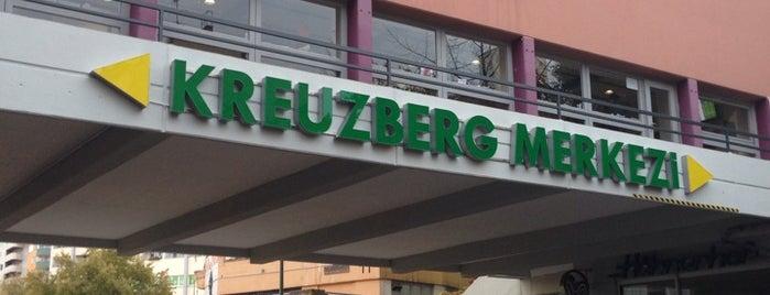 Zentrum Kreuzberg | Kreuzberg Merkezi is one of Tempat yang Disukai Kübra.