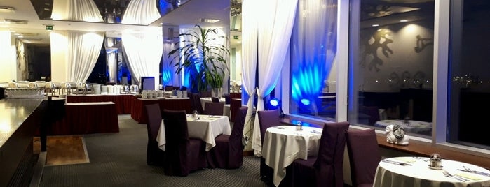 "Islande Hotel Riga | Restaurant ""Ziemeļblāzma"" is one of Lieux qui ont plu à Ece."