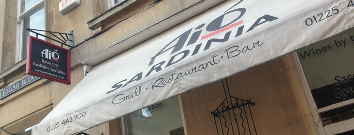 Aio Grill & Restaurant Bar is one of Bath.