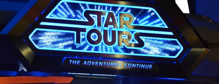 Star Tours: The Adventures Continue is one of Tokyo.