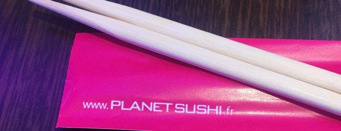 Planet Sushi is one of Lieux qui ont plu à Anne-Charlotte.