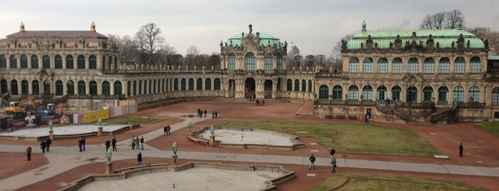 Dresdner Zwinger is one of World Heritage Sites List.