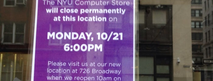 NYU Computer Store is one of NYC Places II (Sightseeing).
