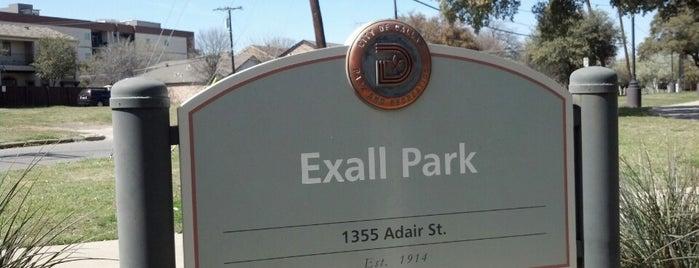 Exall Park is one of David'in Beğendiği Mekanlar.