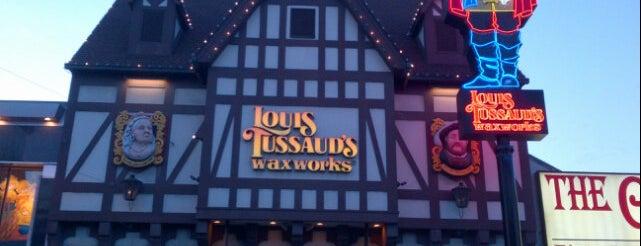 Louis Tussaud's Waxworks is one of Niagara Falls.