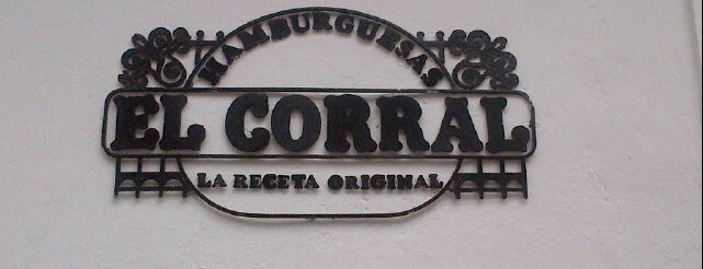 Hamburguesas El Corral is one of Sergioさんの保存済みスポット.