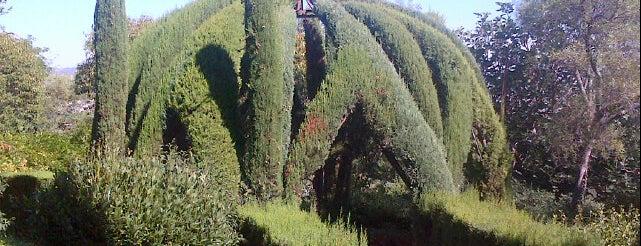 Jardins de Laribal is one of Ruta a Sants-Montjuïc. La ruta verda.