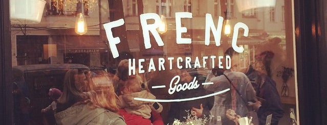 FRENC heartcrafted goods is one of Gespeicherte Orte von Alissa.