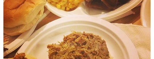 Wall's BBQ is one of Savannah-Charleston.