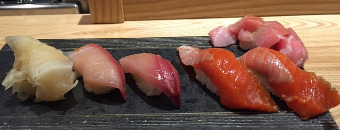 Sushi Kashiba is one of I Want Somewhere: Restaurants & Bars.