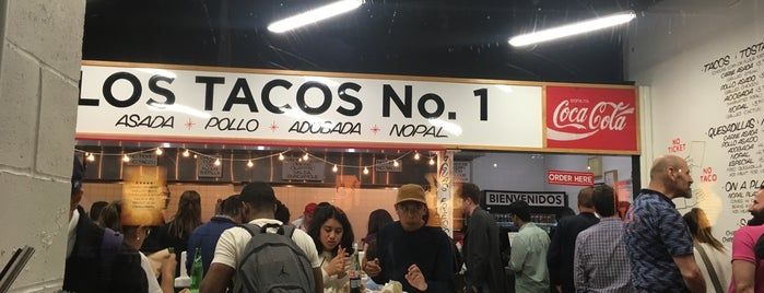 Los Tacos No. 1 is one of New York City.