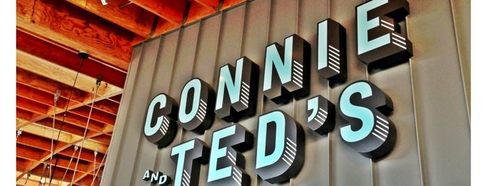 Connie and Ted's Seafood is one of LA Bar Resto.