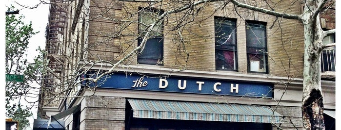 The Dutch is one of The 38 Essential New York Restaurants, Winter 2017.