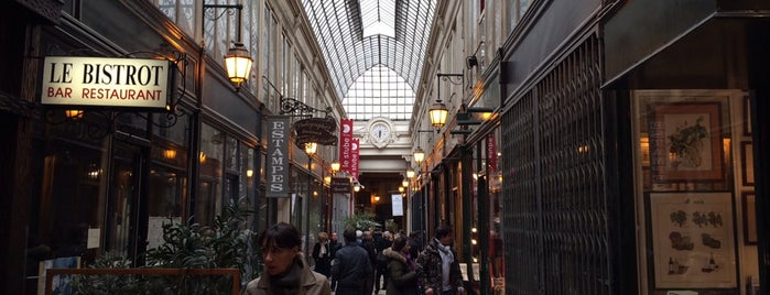 Passage Verdeau is one of Paris.