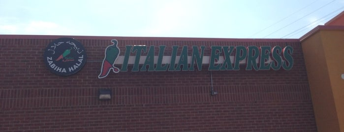 Italian Express is one of Noah's Saved Places.
