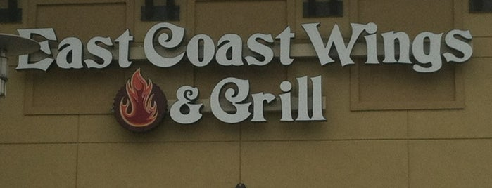 East Coast Wings & Grill is one of America's 8 Tastiest Wing Joints.