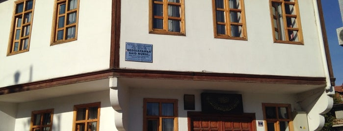 Bediüzzaman Said Nursi Hz Konak'ı is one of Sivas-Tokat-Amasya-Kastamonu.