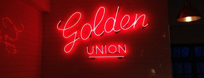 The Golden Union Fish Bar is one of Fine Dining.