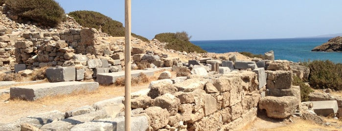 Itanos Archaeological Site is one of Crete.