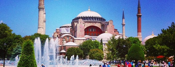 Place du Sultan-Ahmet is one of Istanbul.
