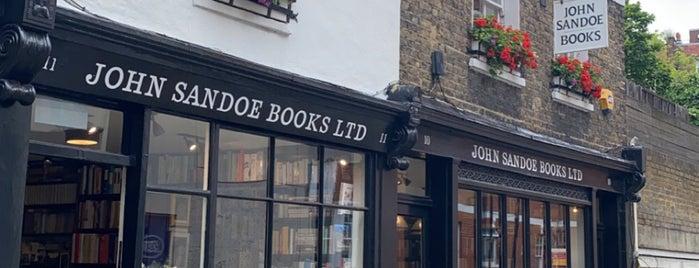John Sandoe Books is one of London.