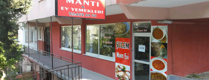 Şulem Mantı Evi is one of Lieux qui ont plu à Ömer.