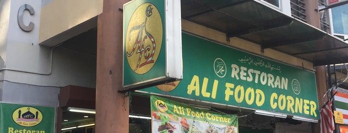Ali food corner is one of Makan @ KL #8.