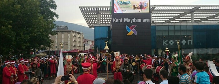 Kent Meydanı AVM is one of Lugares favoritos de Burak.