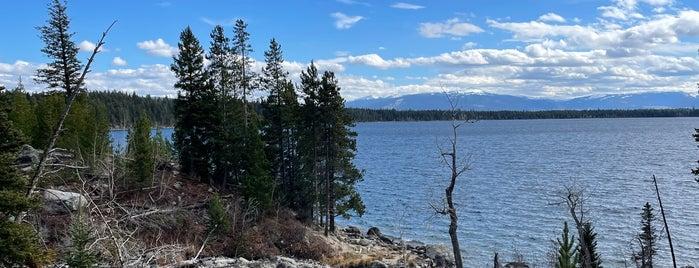 Jenny Lake is one of Jackson Hole.