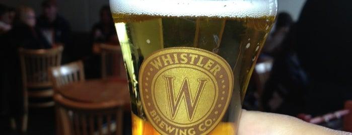Whistler Brewing Company is one of Tempat yang Disimpan Dan.