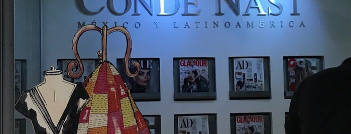 Editorial Condé Nast is one of Tempat yang Disimpan Mariel.