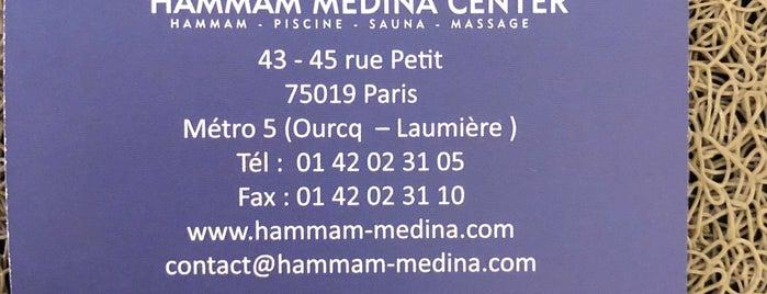 Hammam Medina Center is one of Paris - Restaurants.