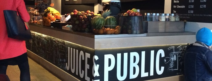 Juice & Public is one of London!.