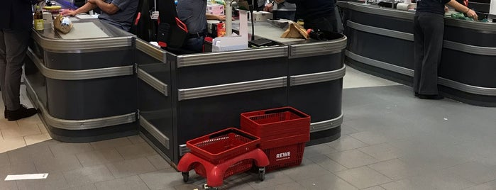 REWE is one of usual locations.