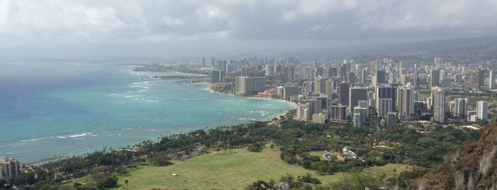 Diamond Head Observation Deck is one of Lieux qui ont plu à J..