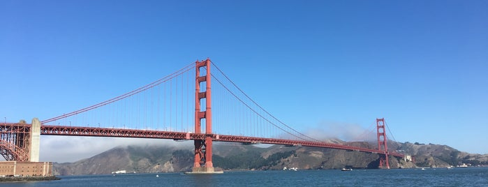 Golden Gate Bridge - Tower 1 is one of Posti che sono piaciuti a Gunnar.