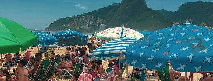 Praia de Ipanema is one of Lieux qui ont plu à MBS.
