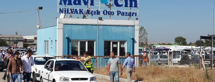 Nilüfer Açık Oto Pazarı is one of Yücel: сохраненные места.