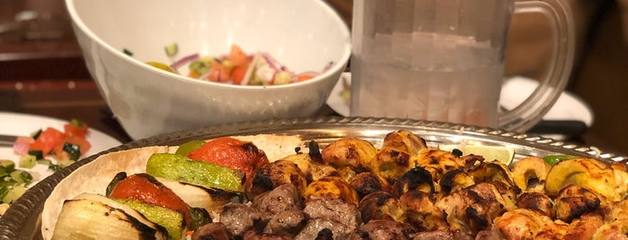 Kabobi - Persian and Mediterranean Grill is one of Ate.