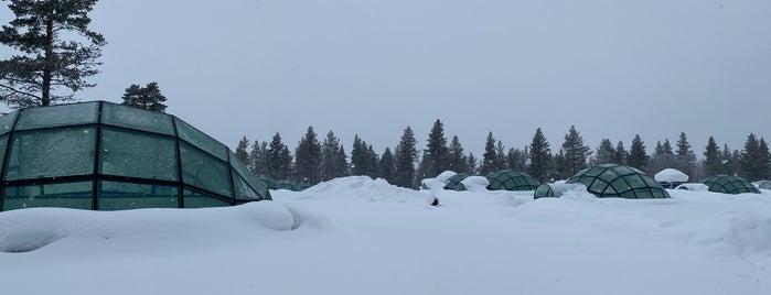 Kakslauttanen Igloo Village is one of Finland فنلندا.