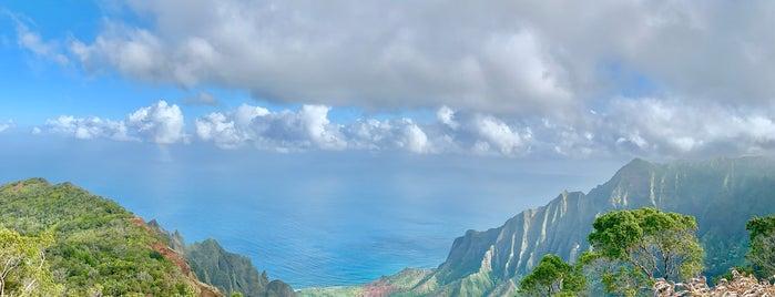 Kalalau Lookout is one of Kauai To-Do's.