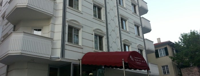 Argentum Hotel is one of Ankara'daki Oteller.