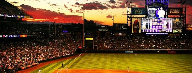 Coors Field is one of MLB Ballparks.