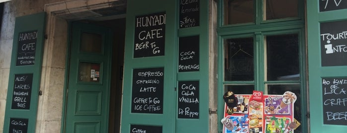 Hunyadi Cafe is one of Locais curtidos por Alika.