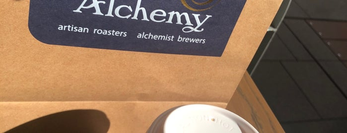 Micro by Coffee Alchemy is one of Tempat yang Disukai Matt.
