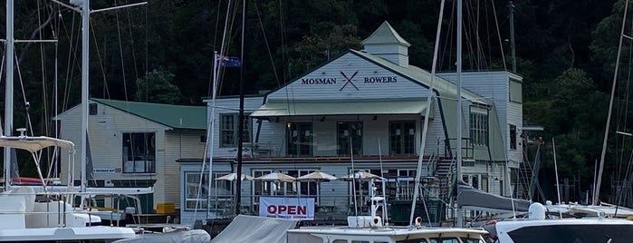Mosman Rowers is one of To-do - Restaurants & Bars.