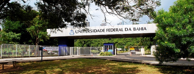 UFBA - Universidade Federal da Bahia - Campus Ondina is one of Tempat yang Disukai Alexandra.