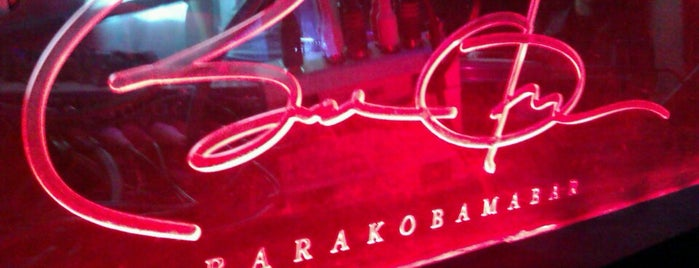 BarakObamaBar is one of St.Petersburg's nightclubs.