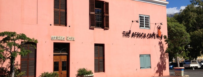 The Africa Café is one of Cape Town.