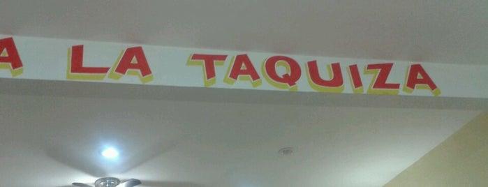 La Taquiza is one of René 님이 좋아한 장소.